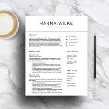 Resume Templates With Cover Letter Modern Resume Template Minimal Resume Template Modern Cv
