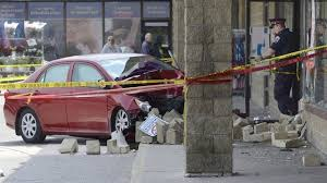 update building declared unsafe after car crash thespec com