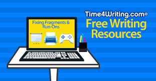 fragments u0026 run on sentences time4writing