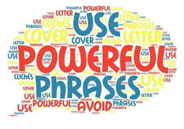 cover letter words 20 powerful words to use in a cover letter