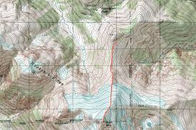 Topography Map Ruth Mountain Topographic Map Photos Diagrams U0026 Topos Summitpost