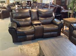 maximus fossil top grain leather power reclining sofa loveseat