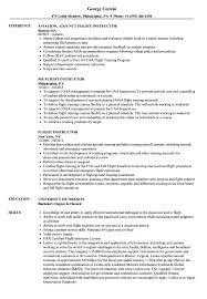 adjunct instructor resume sample flight instructor resume samples velvet jobs
