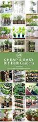 Countertop Herb Garden by 50 Cheap And Easy Diy Herb Garden Ideas Prudent Penny Pincher