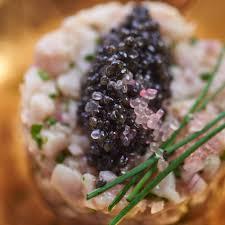 caviar recettes cuisine recette tartare de veau iodé cuisine madame figaro
