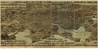 Baltimore City Map Maryland