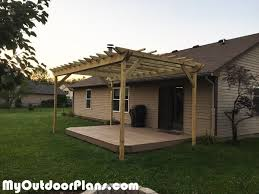 12 X 16 Pergola by Diy 12x18 Pergola Myoutdoorplans Free Woodworking Plans And