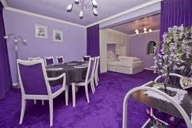 Inspiration  Violet Dining Room Ideas Design Decoration Of - Purple dining room