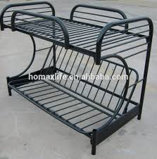 Black Metal Futon Bunk Bed Furniture Bed Black Futon Bunk Bed Metal Frame Folding Sofa