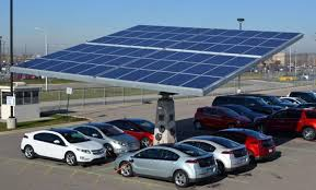 envision plans to install 2 300 rotating solar tree car shelters