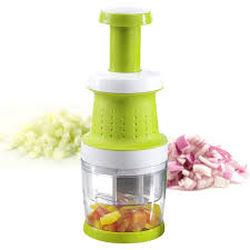 hachoir cuisine hachoir à oignons et légumes avec piston enrico vin et cuisine
