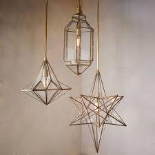 duo walled chandelier 3 light huge gift west elm ceiling light moroccan glass pendants