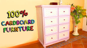 diy crafts amazing furniture with cardboard boxes recycled youtube