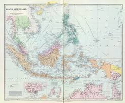 Map Of Se Asia by Singapore Colony