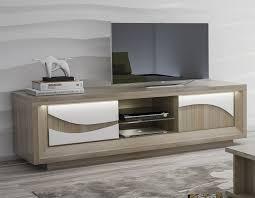 télé pour chambre meuble tv bois et blanc laqué meuble tele pour chambre lepetitsiam