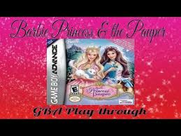 barbie princess pauper gba 1