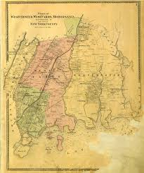 Westchester County Map Vintage Map Of 1867 Lower Westchester County Soon To Become The