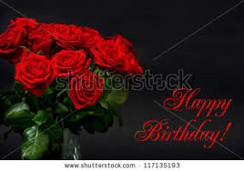 happy birthday roses stock images royalty free images u0026 vectors