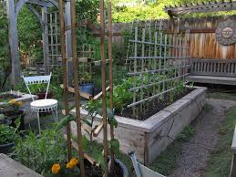 montana wildlife gardener repurposed garden tool trellis