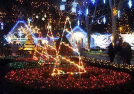 festival of lights at lasalette shrine in attleboro through the