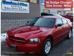 2006 dodge charger se in inferno red crystal pearl 261812