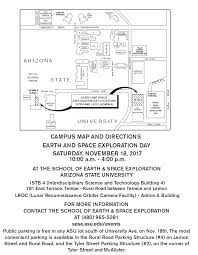 Asu Map Earth And Space Exploration Day 2017 Tickets Sat Nov 18 2017 At
