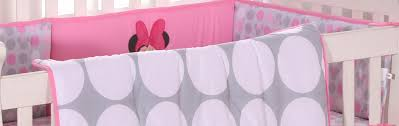Baby Minnie Mouse Crib Bedding Set 5 Pieces by Baby Bedding Sets Disney Baby Minnie Mouse Polka Dots 4 Piece Crib