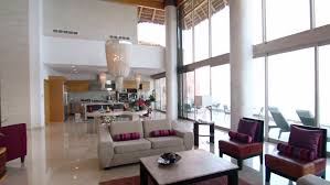 contemporary kitchen and living room in a beachfront home video hgtv