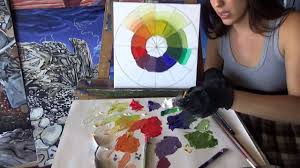 introduction to mixing colors using oil paints youtube