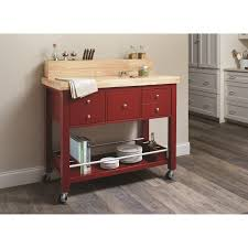 kitchen furniture kitchen carts red kitchen cart