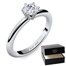 promise rings uk engagement rings for women by amoonic made with swarovski