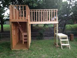 Backyard Play Forts by Backyard Fort Plain U0026 Simple But I Like The Different Levels