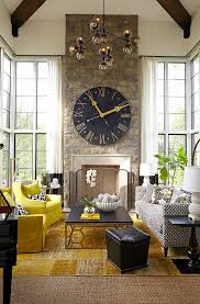 Ideas To Decorate Home How To Decorate With Large Clocks