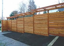 Fence Panels With Trellis Custom Fence With Grape Trellis U2014 Seattle Urban Farm Company