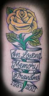 25 endearing in loving memory tattoos slodive