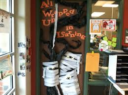 door on pinterest halloween office preschool door decorations and