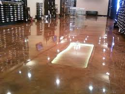 designer epoxy flooring wine chateau