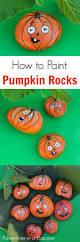 painted jack o lantern pumpkin rocks adventure in a box