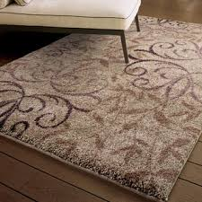 Brown And Beige Area Rug Carolina Weavers Comfy And Cozy Grand Comfort Collection Toro