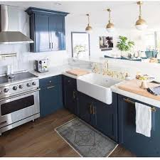 Kitchen Cabinet Ideas Pinterest Fresh Blue Kitchen With Regard To Best 25 Navy 4541