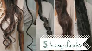 how to make flicks with a hair straightener 5 easy curls waves using a flat iron a review youtube