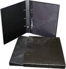 archival photo album albox a3 empty archival binders slip covers 40mm spine no pages