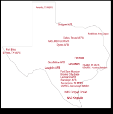 Map Of Texas With Cities Texas Military Real Estate Agents With Military Relocation Services