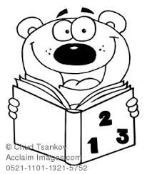 acclaim images coloring bear reading