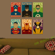 canvas painting for home decoration contemporary decoration superhero wall decor fashionable design