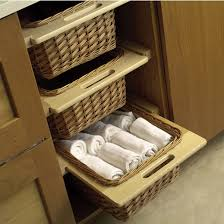 kitchen cabinets baskets hafele pull out wicker baskets for 15 or 18 framed or frameless