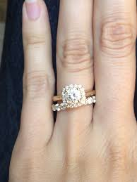 wedding band that will go with my east west oval e ring received my oval ring today wrong setting weddingbee