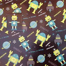space wrapping paper rocket ships space wrapping paper ebay
