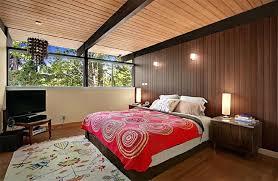 retro wood paneling mid century modern bedroom retro style meets modern modern bedroom