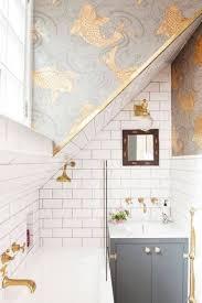 bathroom with wallpaper ideas wallpaper for bathrooms new interior exterior design worldlpg
